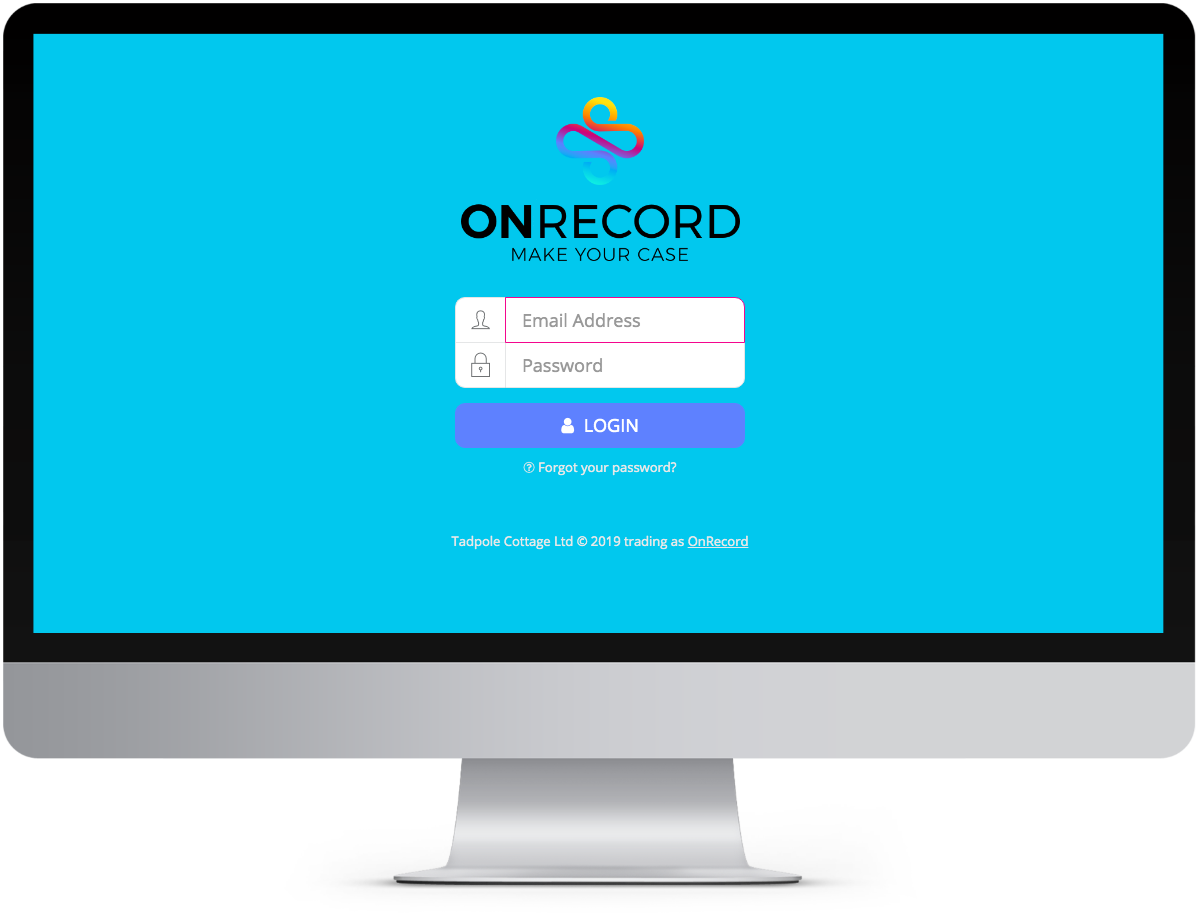 ONRECORD Web App