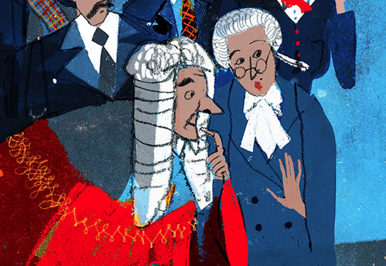 Judge and barrister